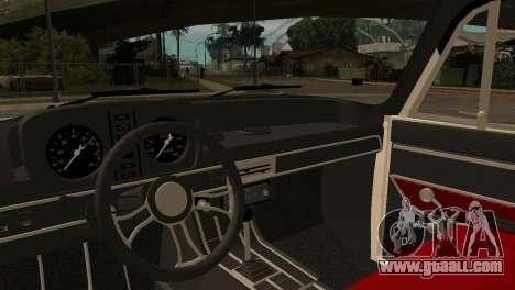 AZLK 412 for GTA San Andreas back view
