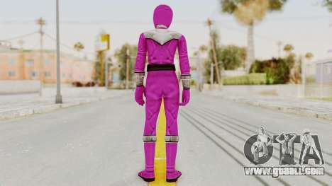 Power Rangers Time Force - Pink for GTA San Andreas third screenshot