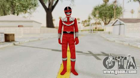 Power Rangers Time Force - Red for GTA San Andreas second screenshot