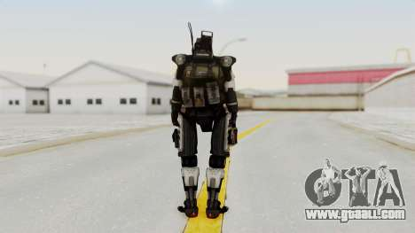 TitanFall Spectre for GTA San Andreas third screenshot