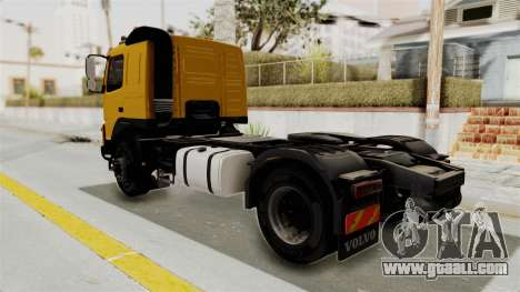 Volvo FMX Euro 5 4x2 for GTA San Andreas back left view