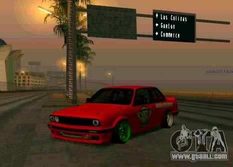 BMW E30 Drift for GTA San Andreas