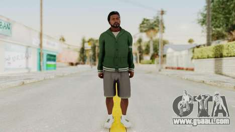 GTA 5 Franklin v2 for GTA San Andreas second screenshot