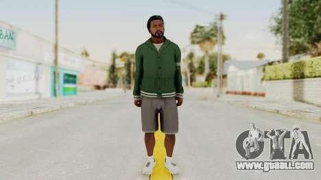 GTA 5 Franklin v2 for GTA San Andreas second screenshot