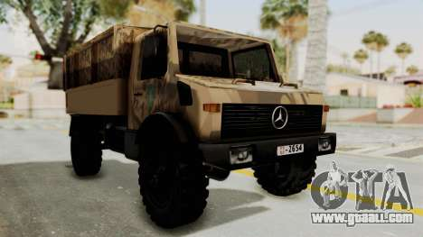 Mercedes-Benz Vojno Vozilo for GTA San Andreas right view