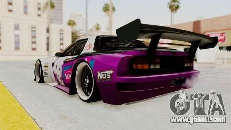 Mazda RX-7 FC Itasha for GTA San Andreas left view
