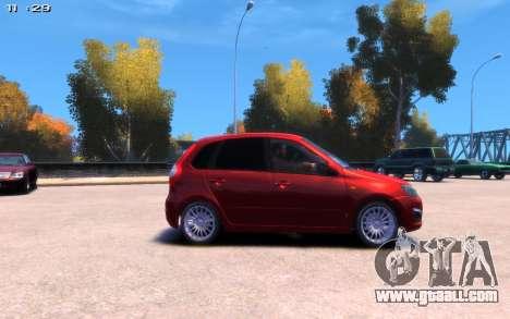 Lada Kalina 2 for GTA 4 back left view