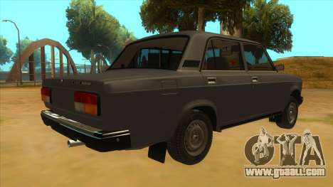 VAZ 2107 RUSSIA for GTA San Andreas right view