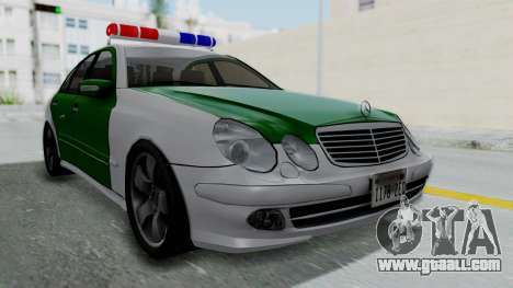 Mercedes-Benz E500 Police for GTA San Andreas
