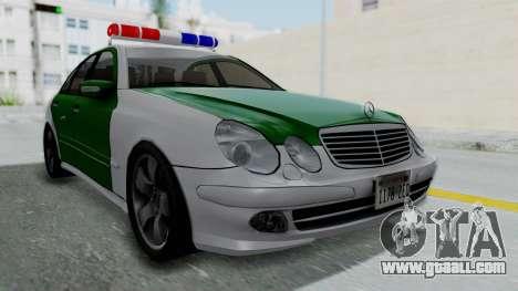 Mercedes-Benz E500 Police for GTA San Andreas