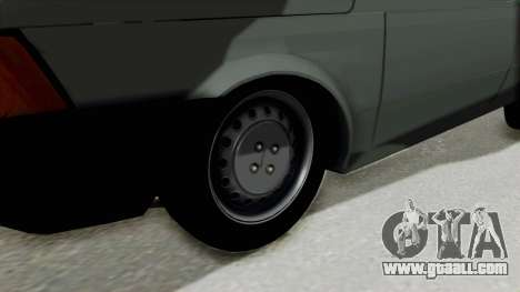 Fiat 147 Vivace for GTA San Andreas back view