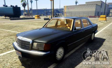 1987 Mercedes-Benz 560SEL for GTA 5