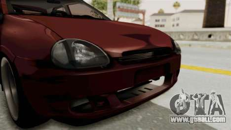 Chevrolet Corsa Hatchback Tuning v1 for GTA San Andreas side view