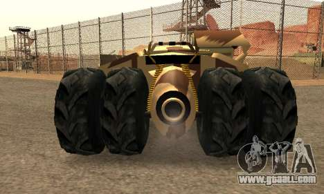 Army Tumbler Rocket Launcher from TDKR for GTA San Andreas interior