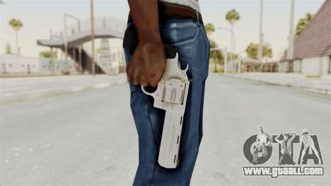Colt .357 Silver for GTA San Andreas third screenshot
