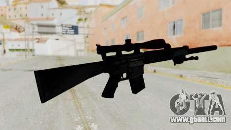SR-25 for GTA San Andreas second screenshot