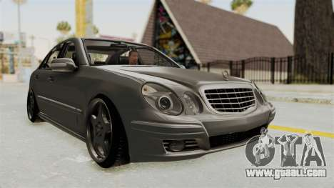 Mercedes-Benz E320 for GTA San Andreas right view