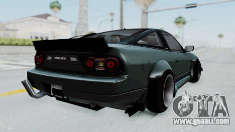 Nissan Sileighty Rocket Bunny for GTA San Andreas left view