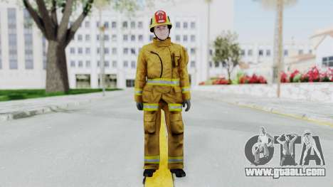 GTA 5 Fireman LV for GTA San Andreas second screenshot