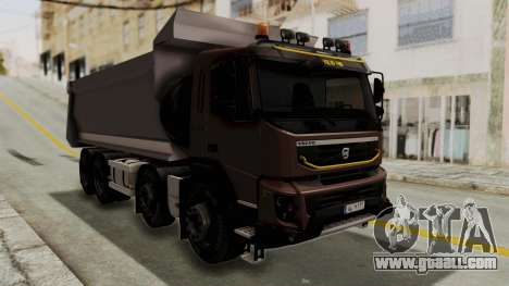 Volvo FMX Euro 5 8x4 v1.0 for GTA San Andreas right view