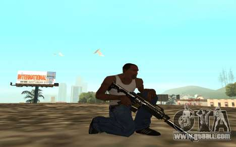 Golden weapon pack for GTA San Andreas sixth screenshot