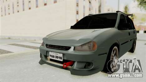 Chevrolet Corsa Wagon Tuning for GTA San Andreas back left view