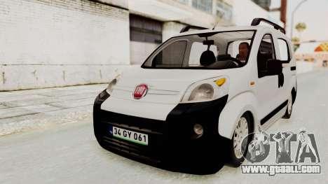 Fiat Fiorino 2014 for GTA San Andreas right view