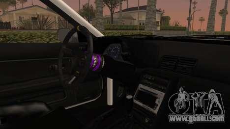 Nissan Skyline R32 Rusty Rebel for GTA San Andreas inner view