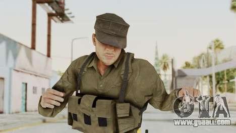 MGSV Phantom Pain Rogue Coyote Soldier Shirt v2 for GTA San Andreas