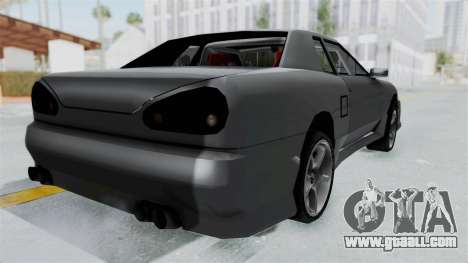 Elegy v2 for GTA San Andreas left view