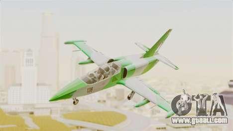 LCA L-39 Albatros for GTA San Andreas left view