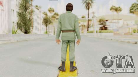 Scarface Tony Montana Army Costume for GTA San Andreas third screenshot