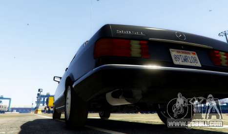 GTA 5 1987 Mercedes-Benz 560SEL rear left side view