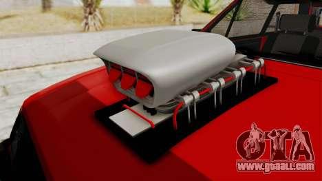 Chevrolet Chevette SL 1988 Monster Truck for GTA San Andreas inner view