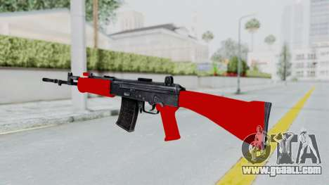 IOFB INSAS Red for GTA San Andreas second screenshot