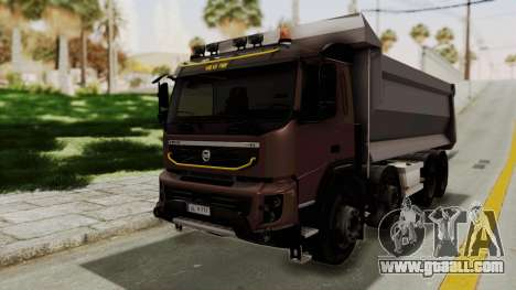 Volvo FMX Euro 5 8x4 v1.0 for GTA San Andreas