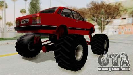Chevrolet Chevette SL 1988 Monster Truck for GTA San Andreas left view
