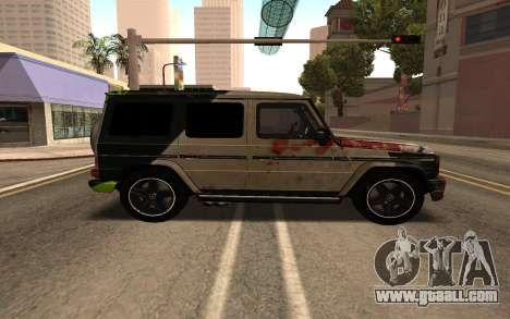 Mercedes-Benz G65 for GTA San Andreas back left view