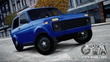 Niva 2015 Aze style for GTA 4