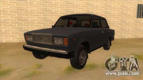 VAZ 2107 RUSSIA for GTA San Andreas