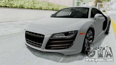 Audi R8 V10 2010 for GTA San Andreas