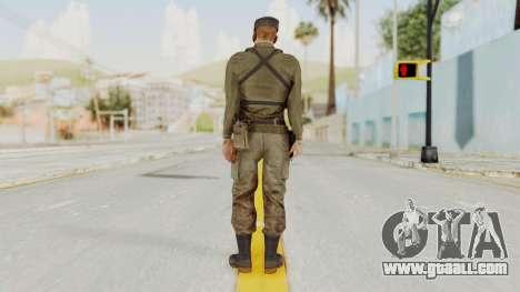 MGSV Phantom Pain Rogue Coyote Soldier Shirt v2 for GTA San Andreas third screenshot
