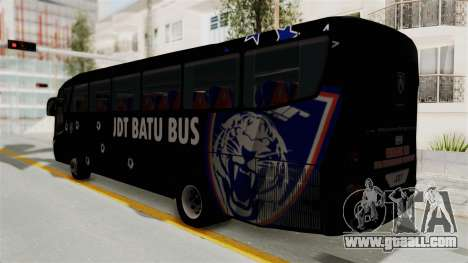 Marcopolo JDT Batu Bus for GTA San Andreas left view