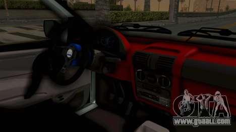 Chevrolet Corsa Wagon Tuning for GTA San Andreas inner view
