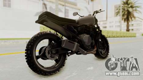 Mad Max Inspiration Bike for GTA San Andreas right view
