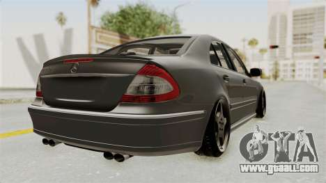 Mercedes-Benz E320 for GTA San Andreas back left view