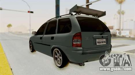Chevrolet Corsa Wagon Tuning for GTA San Andreas left view