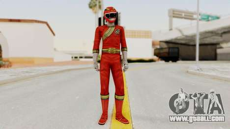 Power Rangers Wild Force - Red for GTA San Andreas second screenshot