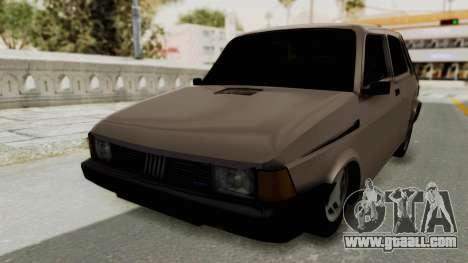Fiat 147 TR De Picadas for GTA San Andreas back left view