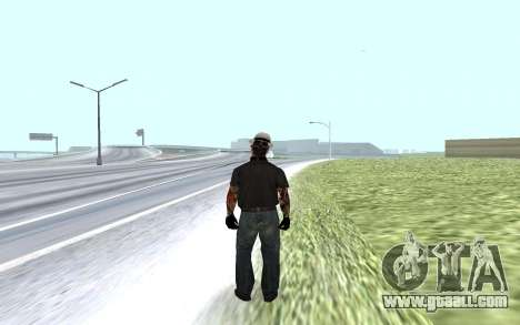 New security guard for GTA San Andreas second screenshot
